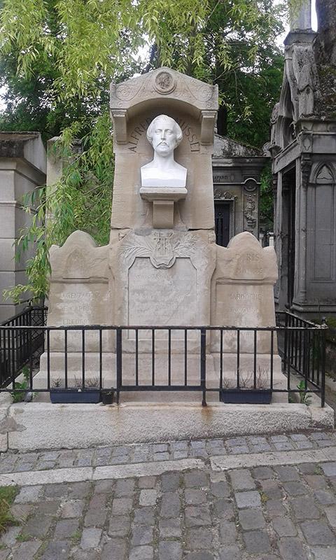 Flânerie littéraire au cimetière du Père-Lachaise.