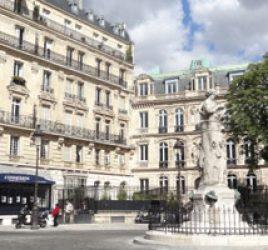 La nouvelle Athènes et les jardins du IXe arrondissement
