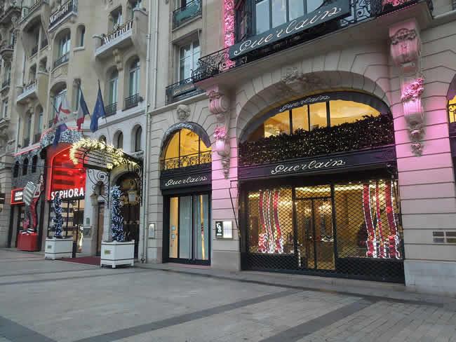 France - paris - Champs-Élysées Guerlain