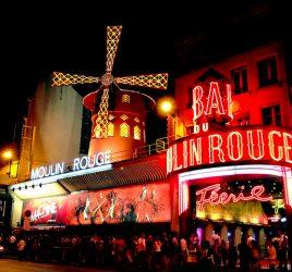 Visite de Montmartre en nocturne.