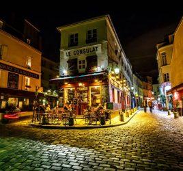 Visite de Montmartre en nocturne